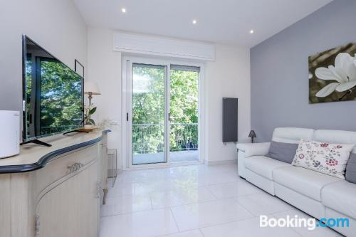 Child friendly apartment with terrace.