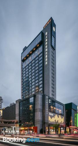 Apartamento bonito en Shanghai con aire acondicionado