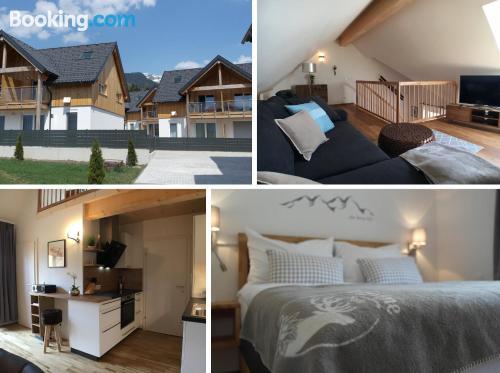Espacioso apartamento de dos dormitorios en Bad Mitterndorf.