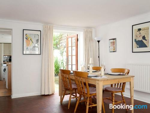 Apartment in Brighton & Hove with heating and internet