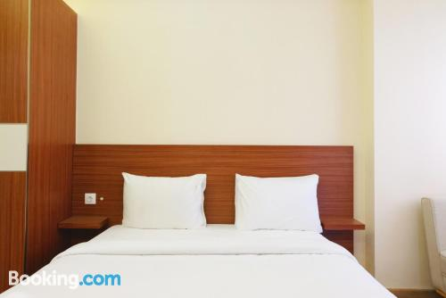 One bedroom apartment place in Tangerang with terrace.