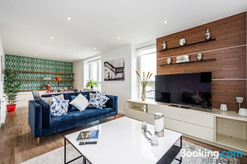 Apartment for six or more. London at your feet!.