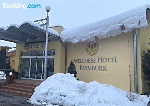 Apartment for 2 people in superb location of Frymburk