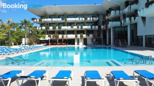 1 bedroom apartment place in Benidorm with terrace and internet.