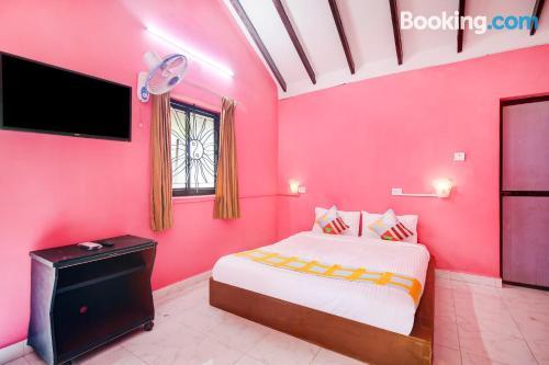 Apartamento con aire acondicionado en Baga.