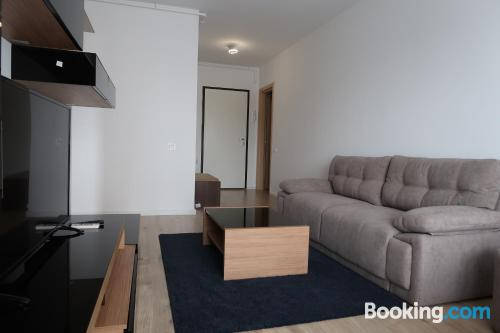 Ideal 1 bedroom apartment with terrace and wifi.