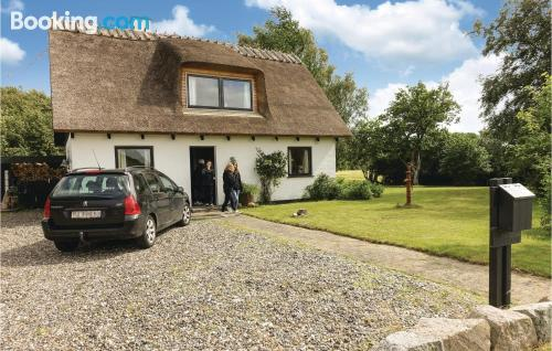 Home in Askeby. Great for families