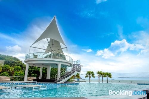Home for two people in Bang Sare with swimming pool.