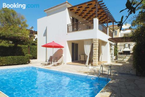 Cot available place with swimming pool and terrace