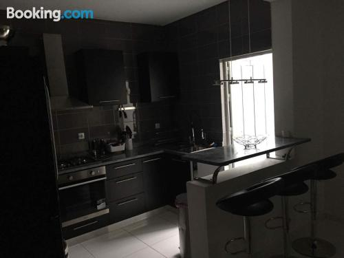 Two room home in Mindelo. Spacious!