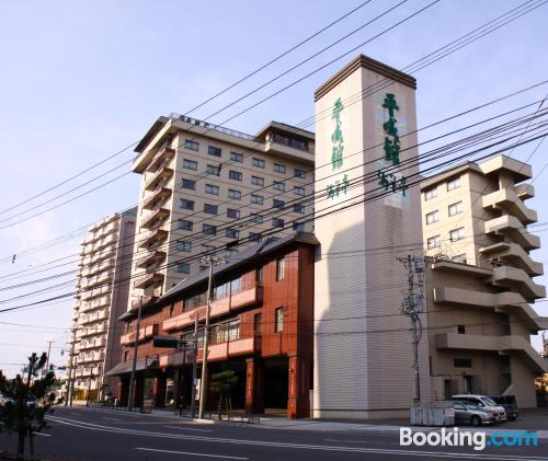 Place for couples in Hakodate. Air-con!