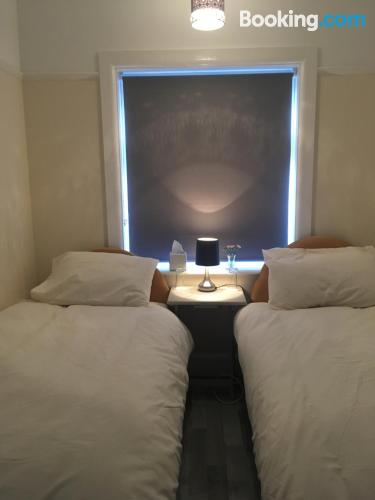 Apartment with internet. Sleeps 2