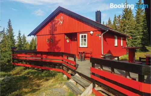 Amplio apartamento en Sjusjøen ideal para grupos