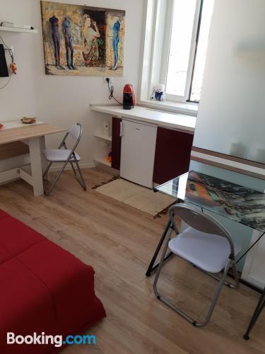 Acogedor apartamento dos personas en Trieste