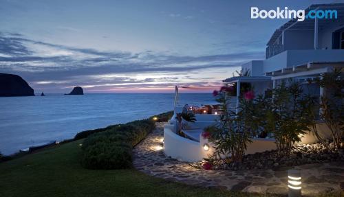 Sleep in Pollonia with terrace