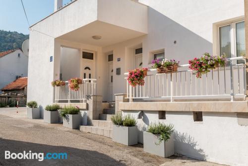 Apartamento con aire acondicionado ¡Con terraza!