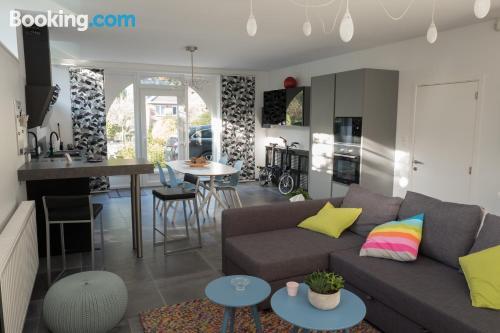 Apartamento apto para niños en Tilff con vistas y wifi