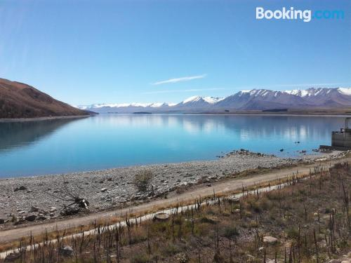 Apartment in Lake Tekapo with heating and internet