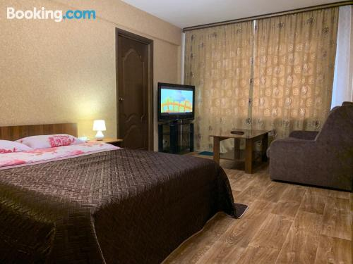Two rooms apartment convenient for groups.
