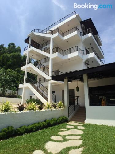 Stay cool: air apartment in Puerto Galera with terrace