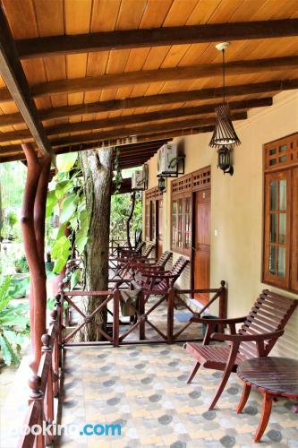 One bedroom apartment place in Kataragama. Animals allowed.