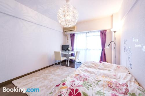 Convenient one bedroom apartment. Be cool, there\s air-con!