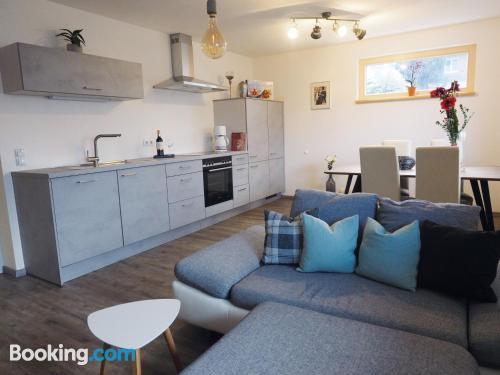 Gran apartamento de dos habitaciones con calefacción