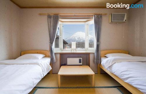 Place in Niseko. Good choice for 2 people!