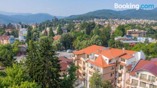 Apartment in Velingrad with terrace and internet.