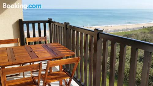 One bedroom apartment in Cabourg. Animals allowed!