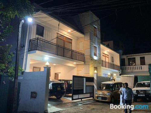 Dream in Mount Lavinia with wifi and terrace.