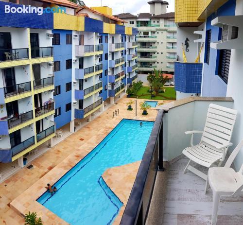 Apartamento con piscina en Ubatuba