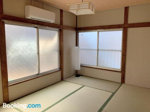 One bedroom apartment place in Tokyo for two people.
