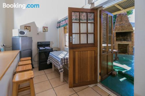 3 bedroom place with heating