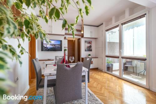 Apartamento con terraza en Varna.