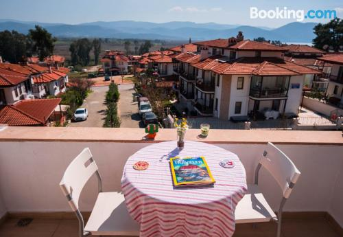 Home for two in Mugla with terrace and wifi.