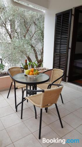 Perfect one bedroom apartment with internet and terrace