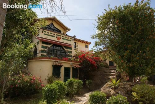 Terrace and internet home in Villa de Leyva. Small!