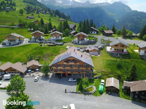 35m2 apartment in Axalp with heating