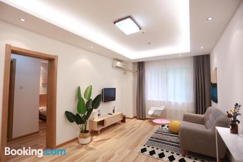 Apartamento con aire acondicionado y internet
