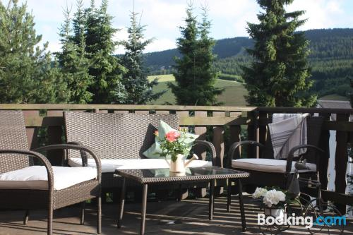 Family friendly apartment. Kurort Oberwiesenthal from your window!