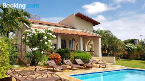 1 bedroom apartment place in Aquiraz with internet.