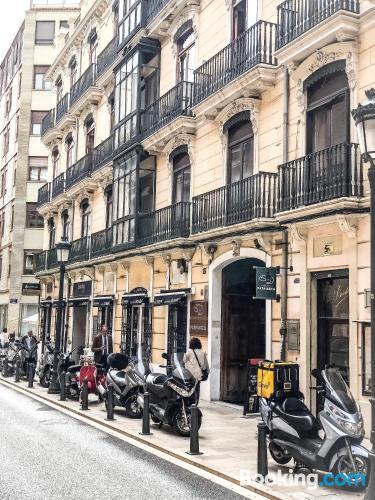 Valencia, centro con calefacción y internet