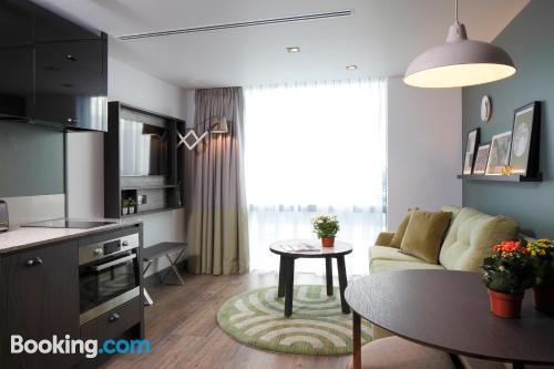 Apartment for two in London with wifi.