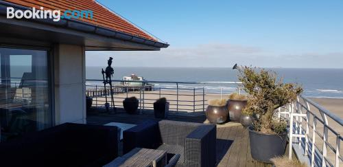 Blankenberge at your feet! Best location!