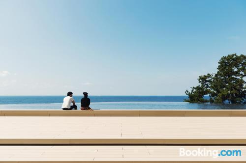 Apartamento con piscina y aire acondicionado en Shirahama