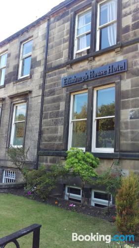Petite place. Edinburgh experience!