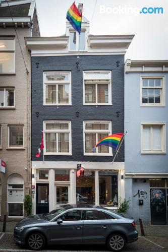 Apartment in Amsterdam. Sleeps two
