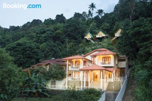 Práctico apartamento parejas con terraza