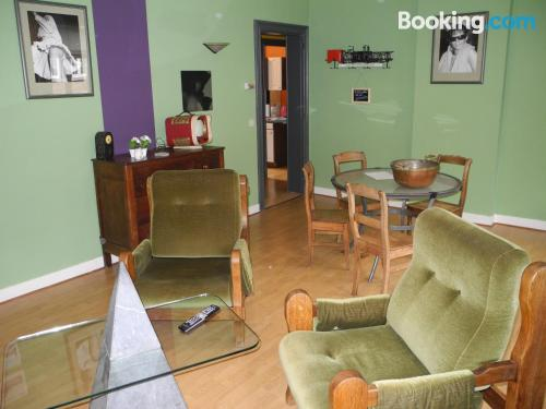 1 bedroom apartment in Pepinster. Great location, wifi